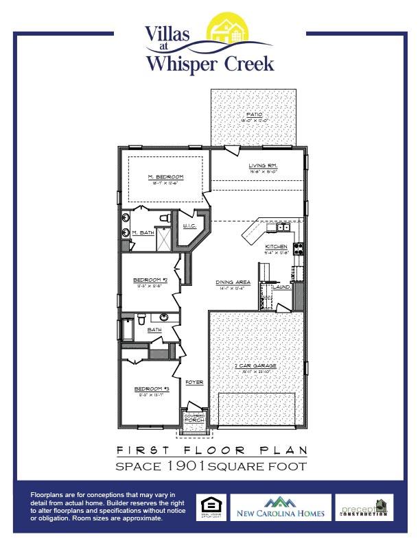 Whisper Creek Villas Floor Plan A