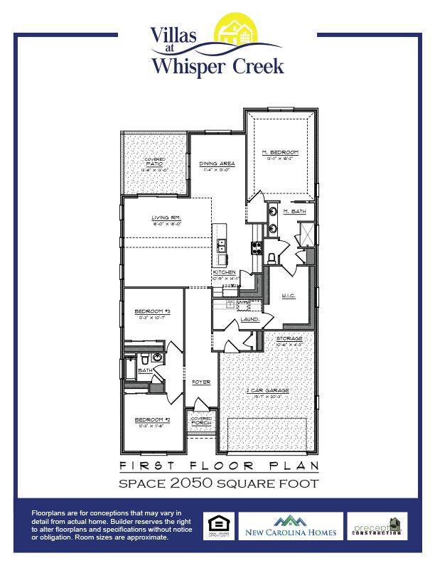Whisper Creek Villas Floor Plan B