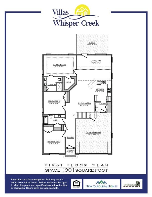Whisper Creek Villas Floor Plan C